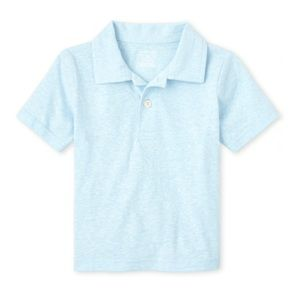 Children's Place Cloud Blue Polo Shirt Top 18-24mo